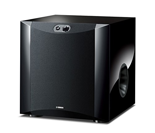 Yamaha NSSW300 Powered Subwoofer - Piano Black