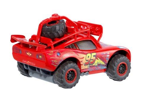 Image of Disney Pixar Cars Radiator Springs Off-Road Lightning McQueen Vehicle