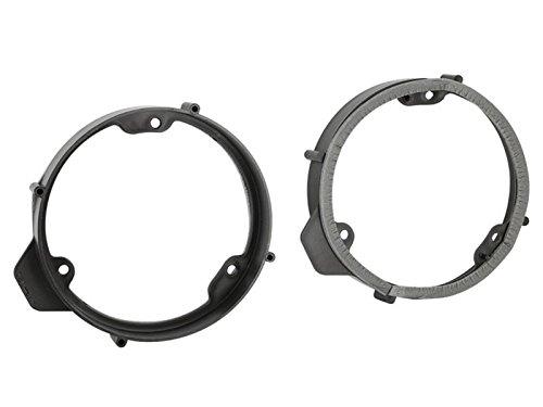 Lautsprecher Einbauset Ringe Adapter für Mercedes A-Klasse W176 ab 2013 165mm (Klasse Ringe 2013)