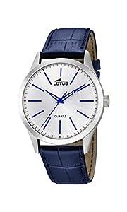 Lotus Watches Reloj Análogo clásico para Hombre de Cuarzo con Correa en Cuero 15961/5
