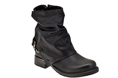 Koloski Texas Bottines Neuf Chaussures Femme Noir