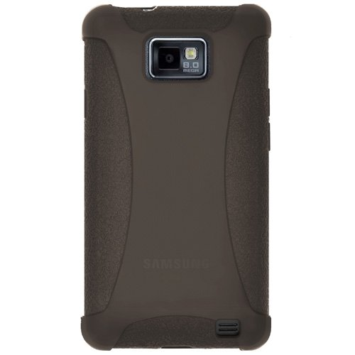 Amzer AMZ91260 Silicone Skin Jelly Case for Samsung Galaxy S II GT-I9100 (Grey)  available at amazon for Rs.224
