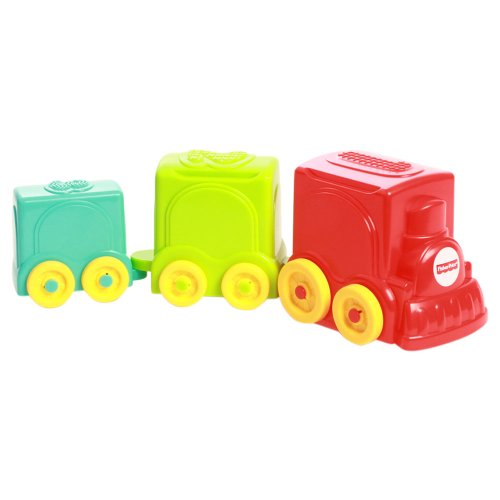 Fisher-Price Stack & Roll Choo Choo  available at amazon for Rs.283
