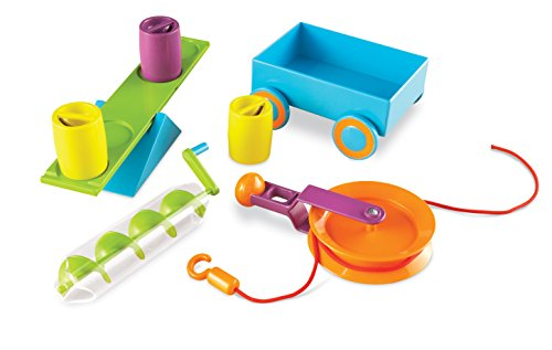 Learning Resources- Set de Actividades de Stem-máquinas Simples, Color (LER2824)