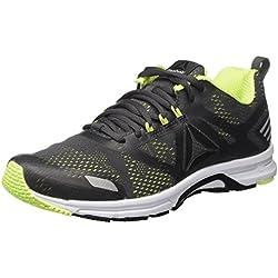 Reebok Ahary Runner, Zapatillas de Running para Hombre, Gris (Ash Grey/Electric Flash/Silver / White), 43 EU