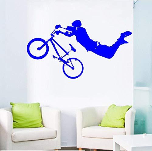 Junge Riesen Wand Vinyl Kunst Wandtattoo dekoration wandaufkleber bett raumdekor 42X80cn (Riesen-wand-abziehbilder Für Wohnzimmer)