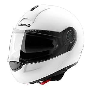 casque moto modulable schuberth c3 uni blanc xl neuf auto et moto. Black Bedroom Furniture Sets. Home Design Ideas