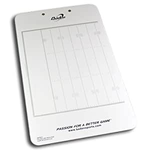 Baden Dry Erase Football Game Board with Clipboard and Pen