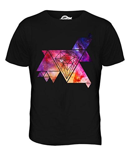 CandyMix Galaxien Und Diamanten Herren T Shirt Schwarz