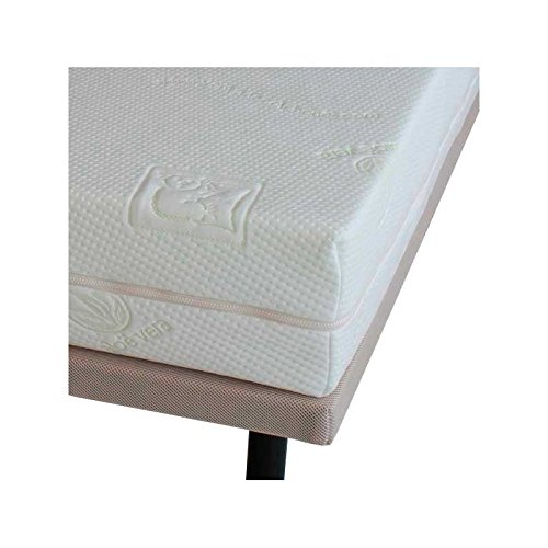 Ventadecolchones - Funda para Colchones con Cremallera en Tejido Stretch de 14 a 18 cm de alto y 150 x 190 cm