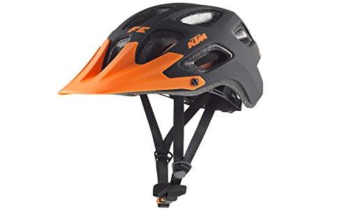KTM BIKE Fahrrad MTB Helm - FACTORY ENDURO Gr. 52-56 - Orange/Schwarz - Matt