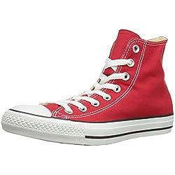 Converse Chuck Taylor All Star Hi, Zapatillas Altas Unisex Adulto, Rojo (Red), 51.5 EU