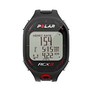 Polar RCX3M Run Heart Rate Monitor and Sports Watch - Black