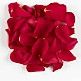 1 Pint of Red Passion Freeze Dried Rose Petal Confetti