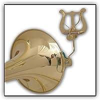Lyra de trombón Soundman de la abrazadera de la campana de LIRA lacado