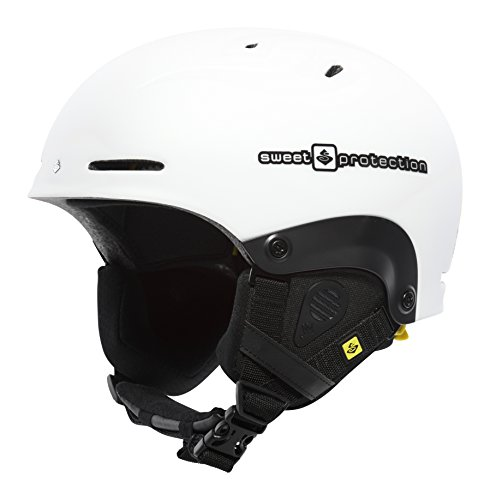Sweet Protection Helmet Blaster MIPS, Satin White, S/M, 840002 (Satin Wool Hose)