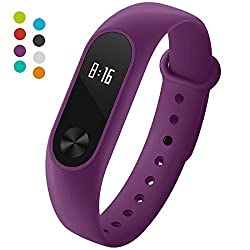 Xiaomi Mi Band 2 Strap Yometome Watches Straps Tpu Material Waterproof Replacement Bands For Xiaomi Band 2
