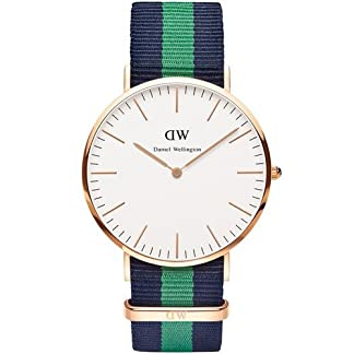 Daniel Wellington Reloj con movimiento Miyota Man Warwick 41 mm
