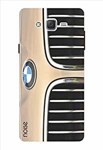 Noise Front Grille Brown Printed Cover for Samsung Galaxy J2