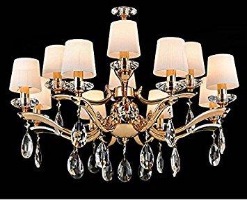 Fushing 20PCS cristallo pendenti a goccia lampadario prismi parti perline