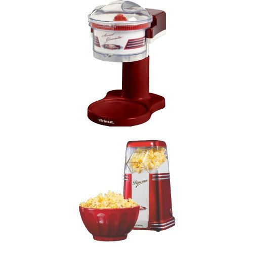 Ariete Sweet Party Time Granita + Popcorn Popper