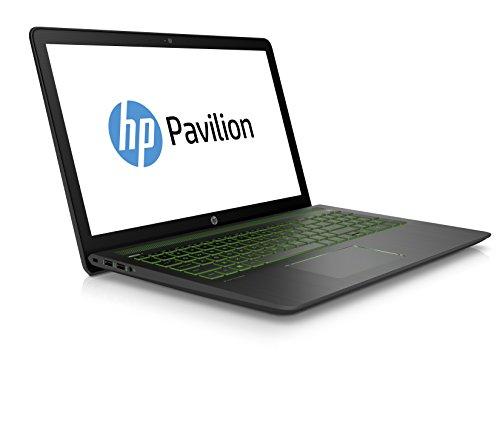 HP Pavilion strength 15 cb005ng 396 cm 156 Zoll Laptop Intel key i7 7700HQ 1 TB HDD 256 GB SSD 16 GB RAM NVIDIA GeForce GTX 1050 Windows 10 your home 64 schwarz Notebooks