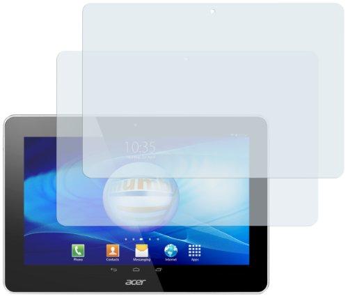mumbi Schutzfolie kompatibel mit Acer Iconia A3-A10 Folie klar, Bildschirmschutzfolie (2x)
