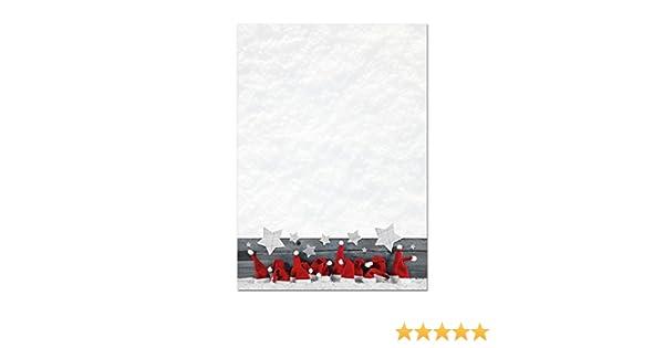 Papier /à Lettres de Mix 1/Best of No/ël 50/feuilles 5/X 10/feuilles DIN A4/90/g//m/² xmas1