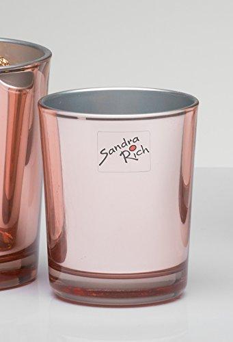 Vase Mirror zylinder kupfer 9 cm Ø 7,5 cm von Sandra Rich