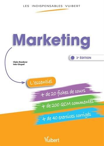 Marketing - Fiches de cours - QCM Commentés - Exercices corrigés