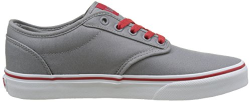 Vans Mn Atwood, Sneakers Basses Homme Gris (Retro Varsity Frost Gray/red)