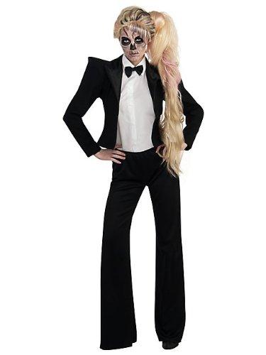 Imagen de rubie 's costume mujer tuxedo–disfraz de lady gaga negro