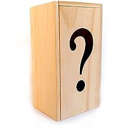 Logica Juegos - Caja ? - La Caja Secreta - Nivel De Dificultad INCREÍBLE 5/6 - Rompecabezas de Madera