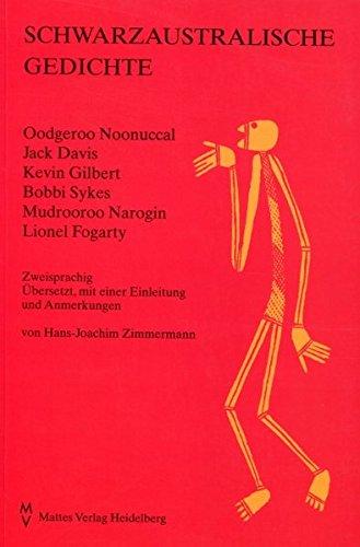 Schwarzaustralische Gedichte: Zweisprachig (Dichtung der Englischsprachigen Welt)