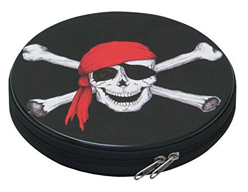 Preisvergleich Produktbild CD Box Pirat für 12 Cd`s Kinder Aufbewahrung Case neu