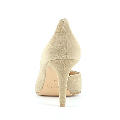 Evita Shoes Jessica, Scarpe col tacco donna Beige