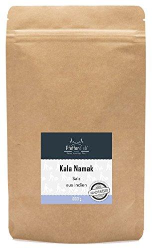 Kala Namak Steinsalz, 1kg - by Pfefferdieb®