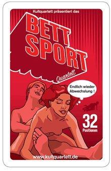 Kartenspiele, Quartett, Bettsport-Quartett von Kultquartett (Sex Kartenspiel)