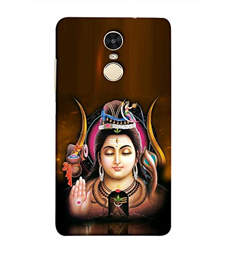 LifeDesign Designer Back Case Cover for Mi Redmi Note 5 (Shiva The Transformer god)