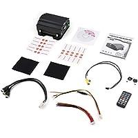 H40 4 Canales Full D1 HDD móvil DVR Grabación de Video Digital en Tiempo Real Autobús Escolar DVR móvil Negro DVR para Camiones / autobuses / Taxis