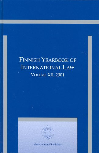 Finnish Yearbook of International Law 2001: v. 12