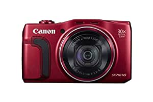 Canon SX710 PowerShot Point and Shoot Digital Camera - Red