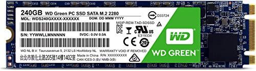 WD Green 240GB M.2 2280 Internal SSD (WDS240G1G0B)