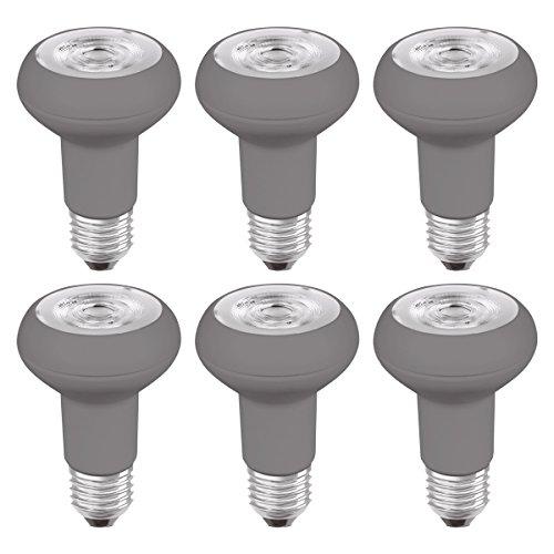 Osram LED-Reflektorlampe| Warm White (2700 K) | Sockel E27 |ersetzt Reflektorlampen mit 64 W | 5,00 W | LED STAR R63 - Ersatz-scheinwerfer-montage