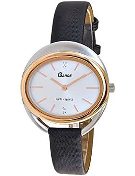 Garde (by Ruhla) Uhr Damen Armbanduhr Modell Elegance 20394-1 Bicolor