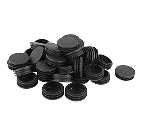 Plastic Round Pipe End Caps Bung Tube Insert Plugs 48mm