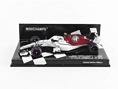 Minichamps 417180416 Miniaturauto aus der Kollektion, Rot/Weiß