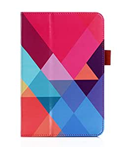 Galaxy Tab S2 9.7 Case, FYY[Super Functional Series] Premium Leather Case Stand Cover with Card Slots, Note Holder,Elastic Strap for Galaxy Tab S2 9.7 Pattern 15 (With Auto Wake/Sleep)