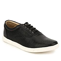 Knotty Derby Mens Black Sneakers - 10 UK/India (44 EU)