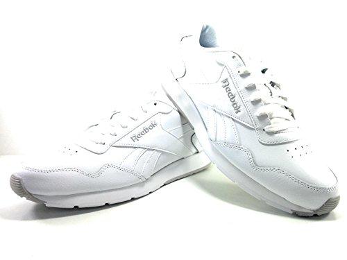 Reebok Royal Glide, Chaussures de Sport Homme, Noir (Schwarz) Blanc